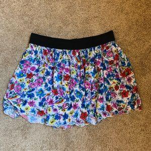 Floral Garage Skirt